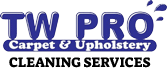 TW Pro Carpets & Upholstery Logo